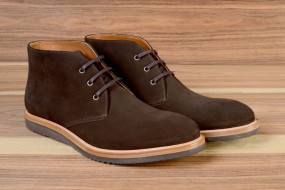 Casual BROWN SUEDE