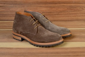 Casual LİGHT BROWN AND GREY SUEDE